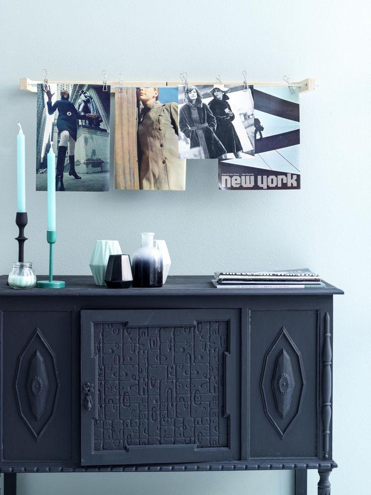 Exposition frame, photos, wallpapers, cabinet | Photographer Louis Lemaire/InsideHomePage.com | Styling Marieke de Geus | vtwonen September 2015