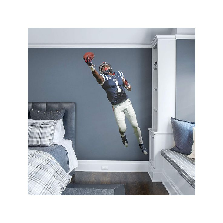 Ole Miss Rebels Laquon Treadwell Wall Decal by Fathead, Multicolor