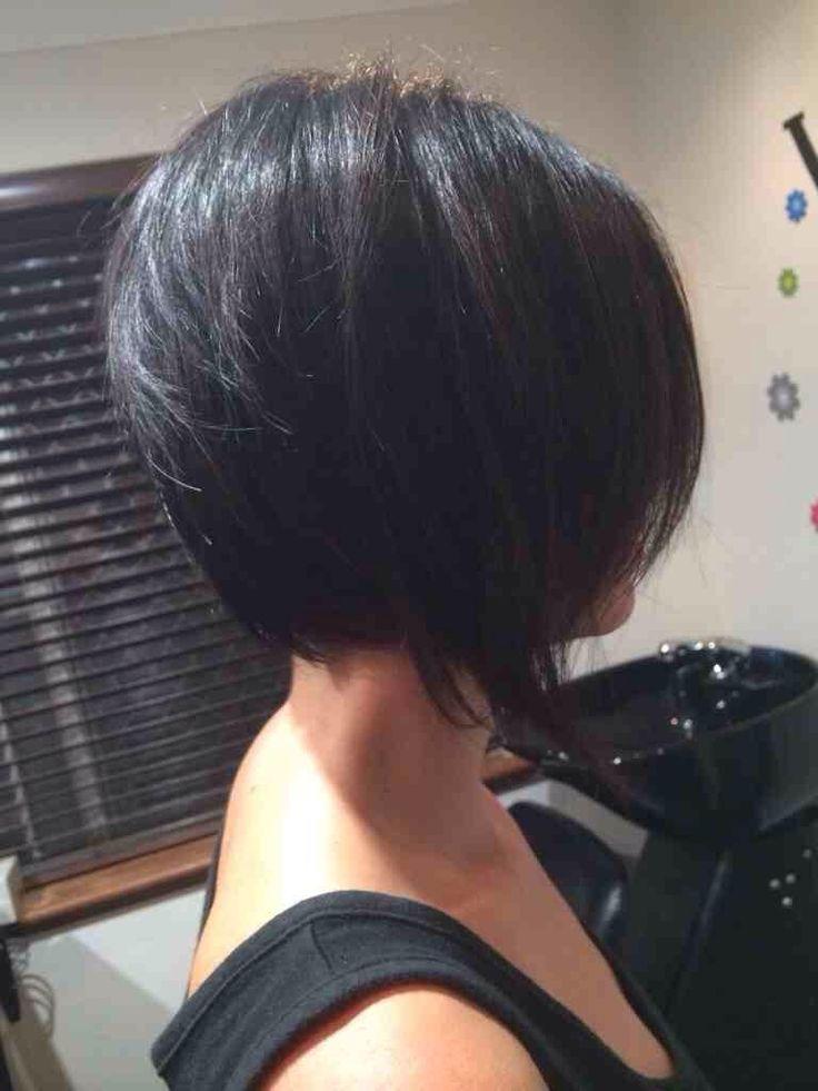 Девушки с каре со спины фото темные волосы