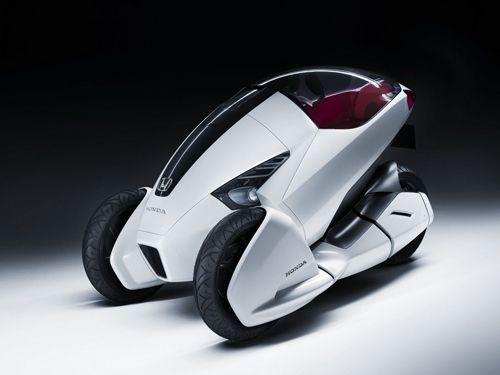 Honda apresenta 3R-C Concept - Um triciclo elétrico para utilização urbana