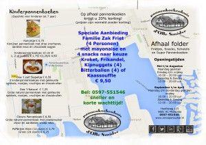 Afhaalmaaltijden Pannenkoekenhuis d'Olle Smidse Midwolda Groningen Oldambt