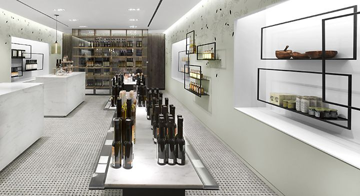 TA-ZE Premium Olive Oil Store by Burdifilek, Toronto » Retail Design Blog