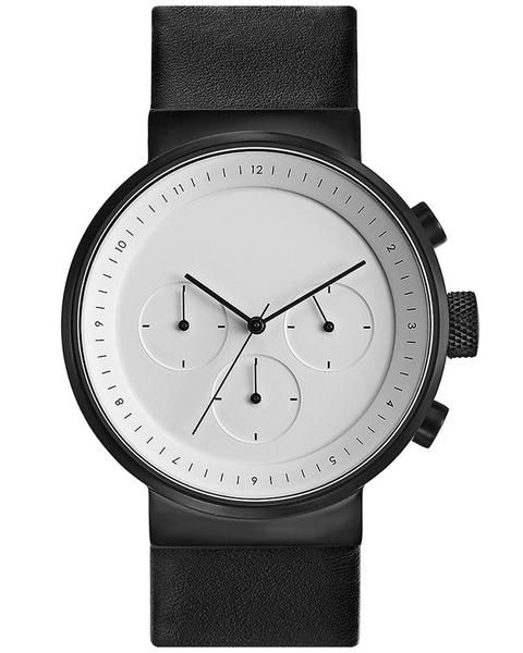 Projects Kiura White Chronograph Watch