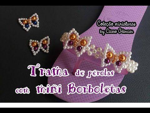 Repeat youtube Trama de pérolas com mini borboletas on Repeatube.com