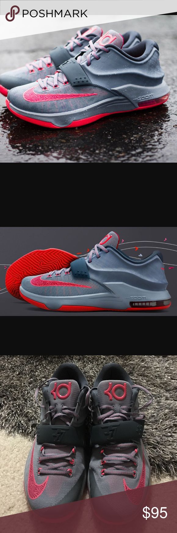 Kevin Durant 7 Calm Before the Storm What a deal! These sneakers are just as new! Make an offer via offer button. No trades. Great Condition.  No box Nike Shoes Sneakers