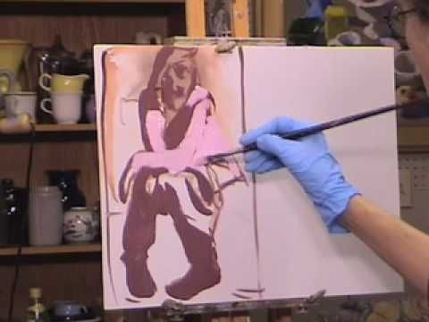 ▶ The Painting Studio with Peggi Kroll Roberts - YouTube