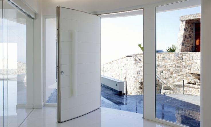High Security front door made in Corian® http://www.cdukltd.co.uk/