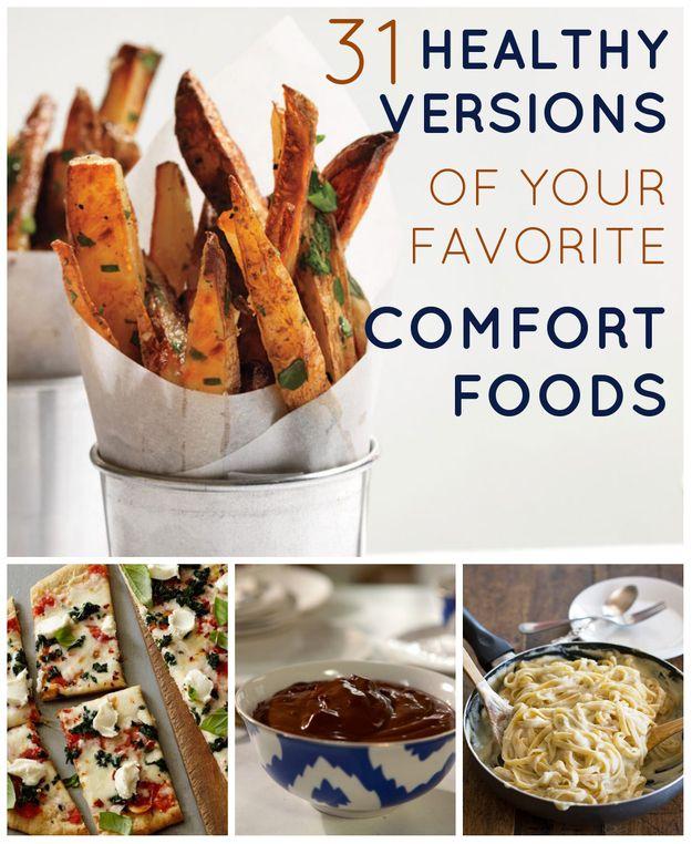 29 Healthy Versions Of Your Favorite Comfort Foods