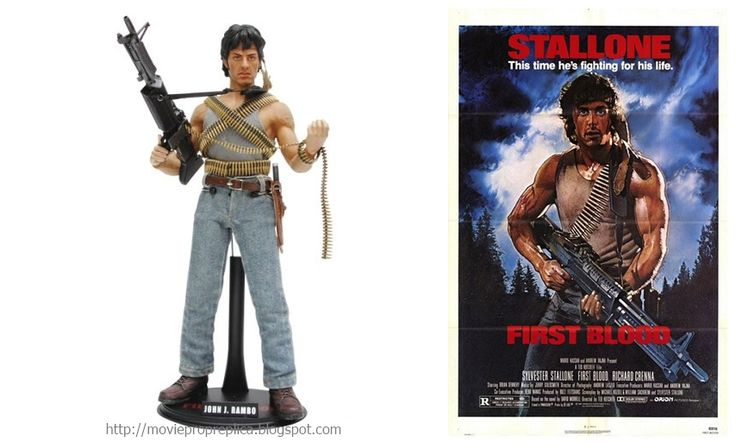 Sylvester Stallone as John Rambo Rambo First Blood Movie Collectible Figure