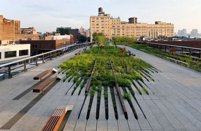 The High Line in New York City. Photo: Iwan Baan © 2009 - High Line Park Photos