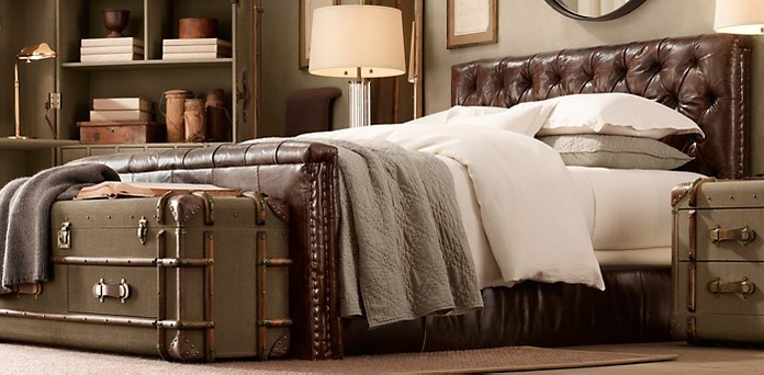 Leather Beds Restoration Hardware My Apartment Pinterest Trucks Hardware And Leather