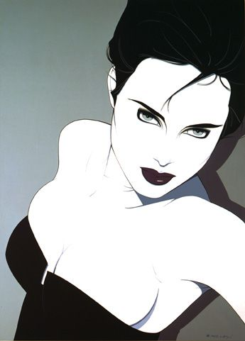 patrick nagel woman | ELLA Universe: Patrick Nagel illustrated the 80's Iconic Woman.