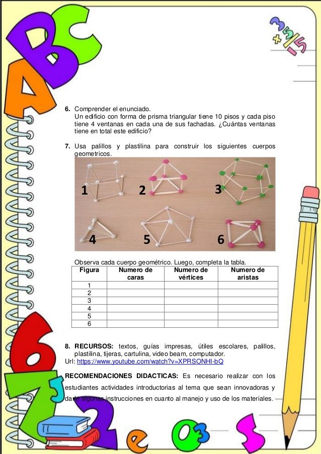 Construyendo Pensamiento Productivo 6 Comprender El Enunciado Un Edificio Con Forma De Prisma Triang Secuencia Didactica Didactico Universidad Pedagógica