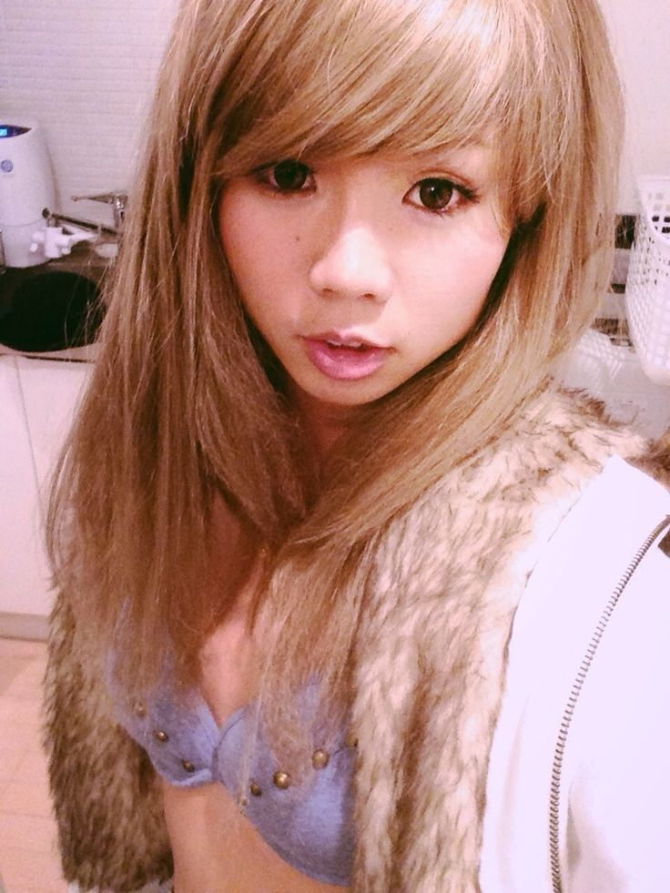 Asian celebrity hair style