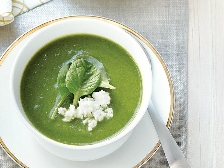 Φθινοπωρινή σούπα με πράσινα λαχανικά