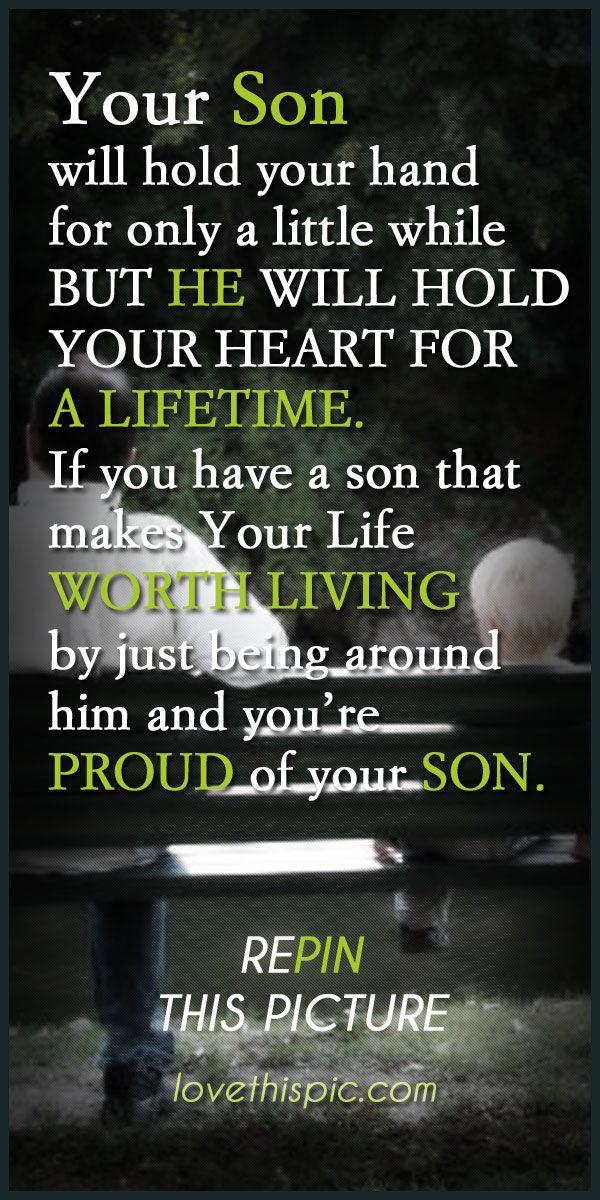Son love quotes family quote parents son proud lifetime