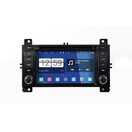 ZNYSTAR Android 4.4 in-Dash Multimedia Stereo System Car GPS Navigation with Touch Screen Radio BT RDS Car audio system for Jeep Grand Cherokee 2011 - 2013( free map )
