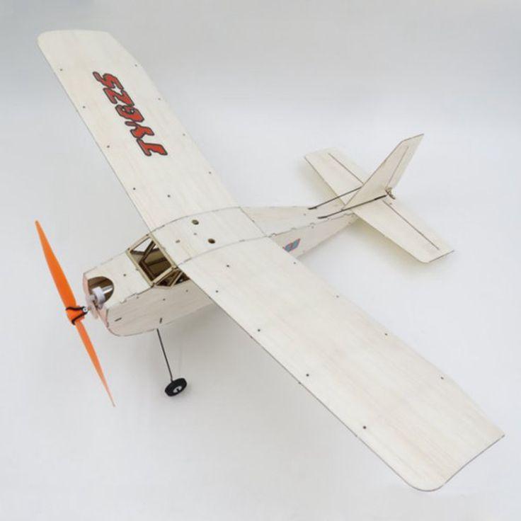 TY model LX17 375mm Wingspan Balsa Wood Laser Cut RC Airplane KIT