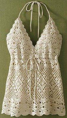 FREE PATTERNS: Crochet Summer Top 2