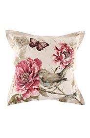 FLEURA FINCH 55X55 SCATTER CUSHION
