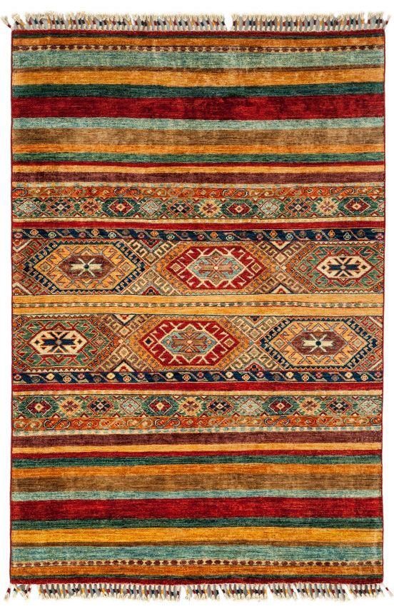 Darya Rugs Tribal Kisha Red Rug