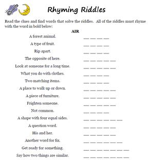 How To Write A Good Riddle