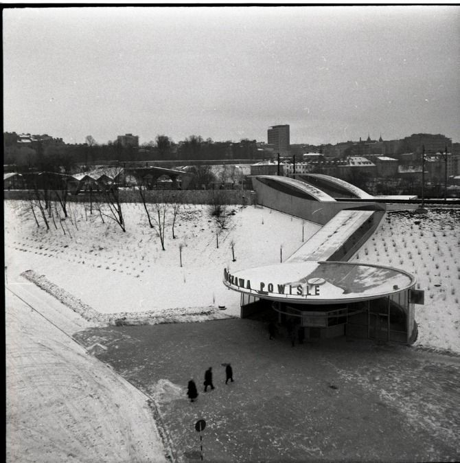 Warszawa Powiśle Arseniusz Romanowicz, Piotr Szymaniak, 1962