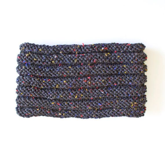 Head Wrap. Neck Warmer. Knitted head wrap. Bandana. by Smukie