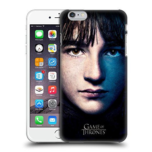 Official HBO Game Of Thrones Bran Stark Valar Morghulis Hard Back Case for Apple iPhone 6 Plus / 6s Plus