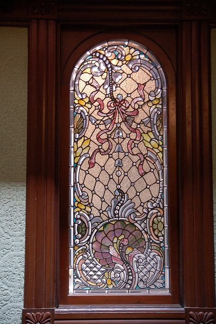 Tiffany Stained Glass at Winchester Mansion (Mystery House)                                                                                                                                                           Tiffany Stained Glass at Winchester ..