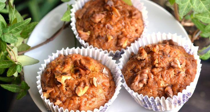 Sütőtökös-diós vegán muffin recept   APRÓSÉF.HU - receptek képekkel