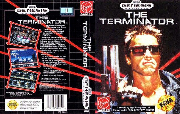 THE TERMINATOR SEGA VIDEO GAME
