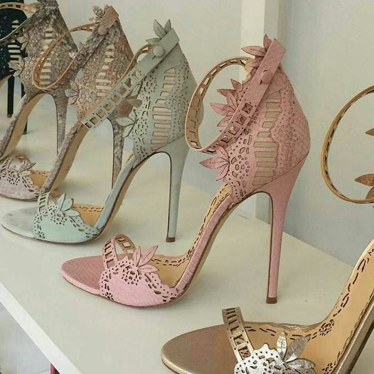 7e432ab07975d High heels open toe shoes in various pastel colours