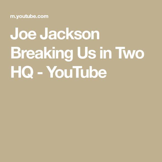Zillow Vancouver Wa: Joe Jackson Breaking Us In Two HQ - YouTube