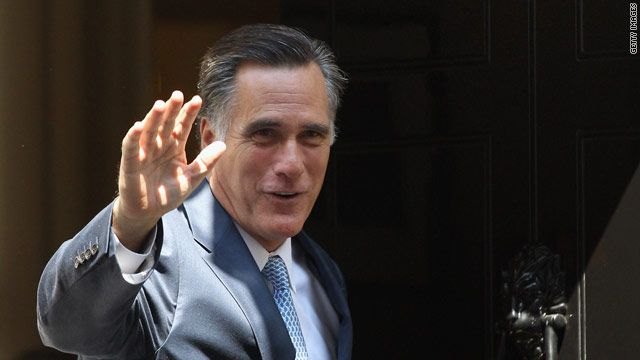 """""""Forty-seven million people now on food stamps. When he came to office there were 32 million,"""" Romney said. """"There is just no way to square those numbers with the idea that America is doing better because it's not.""""      Ohio Sen. Rob Portman is playing the role of Obama in the debate scrimmage. Romney told reporters he was impressed.    """"I'm just glad I won't be debating Rob Portman in the final debates,"""" he said. """"He's good."""""""