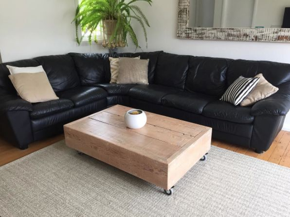 The 'Lagoon' coffee table.