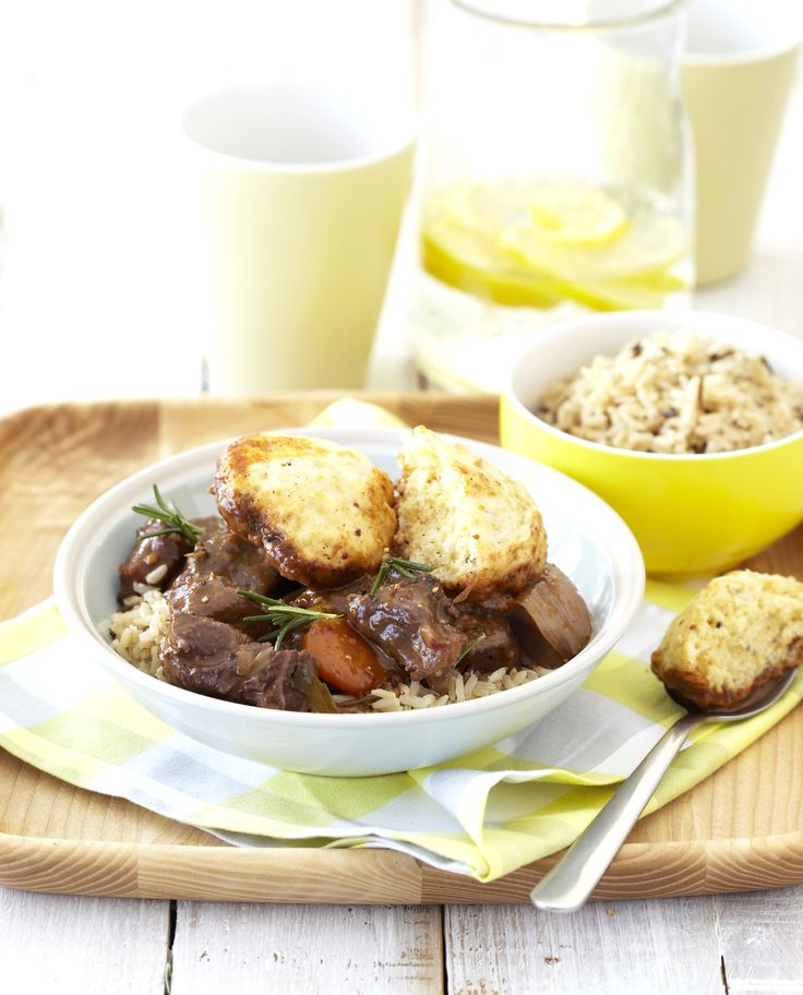 The ULTIMATE comfort food for a hungry family: Delicious Lamb Casserole with Mustard Dumplings ♥♥ #Knorr