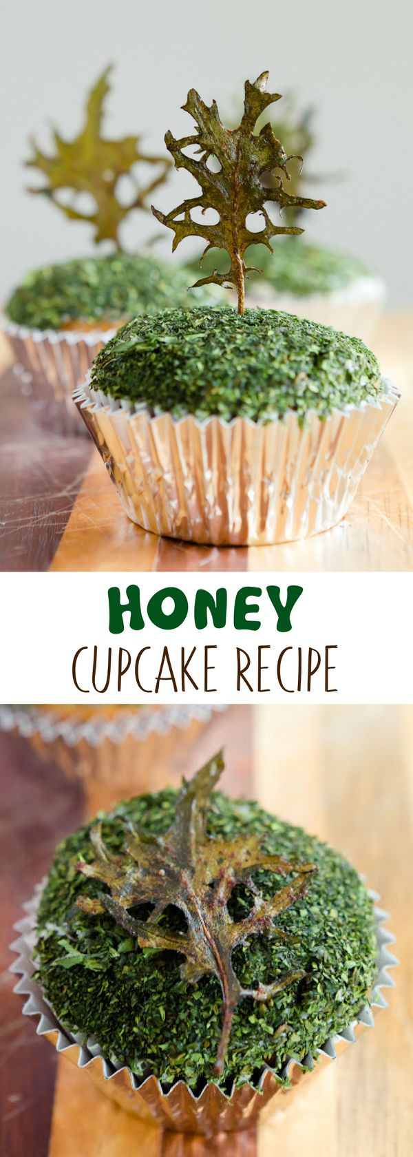 Easy and healthy cupcakes, anyone? These honey cupcakes are made with both honey and honey-flavored Greek yogurt.  They were the best honey cupcakes I have made to date. Yummy and taste quite good and your kids will definitely love this. For more simple baking desserts recipes and homemade sweet treats, check us out at #cupcakeproject. #desserts #yummydesserts #recipeoftheday #sweettooth