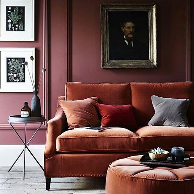 Färgerna! Älskar! #colours #love #red #pink #rust #sammet #velvet #inredning #inspiration #inredareht15 #interior #interiordesign #färger #homedecor #home #homestyling #hem