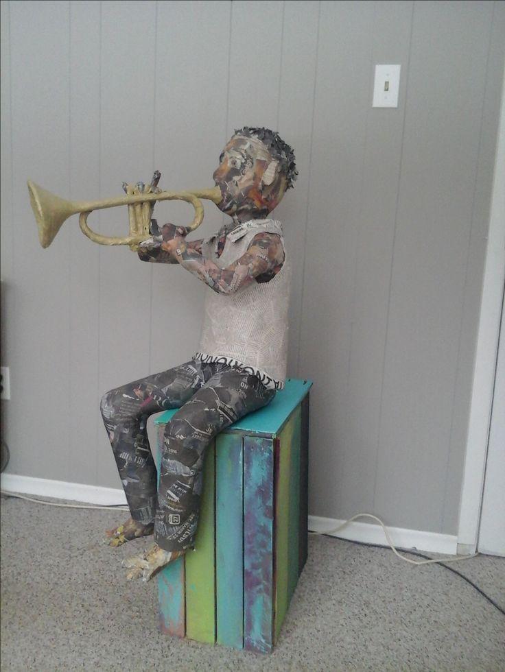 Santiago and his trumpet