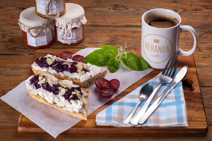 Lekko i pożywnie - śniadanie w Weranda caffe.