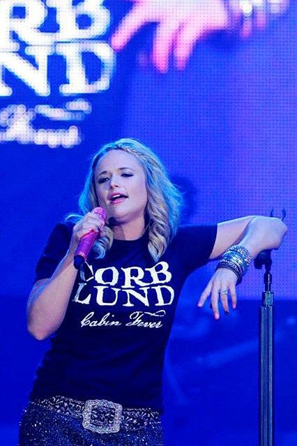 Miranda Lambert (and she is correct - Corb Lund is AWESOME <3)
