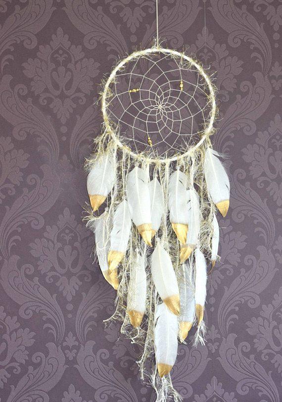 Large Dream Catcher Wall Tapestry Boho Dream Catcher White