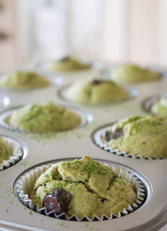 Matcha Muffins Pan