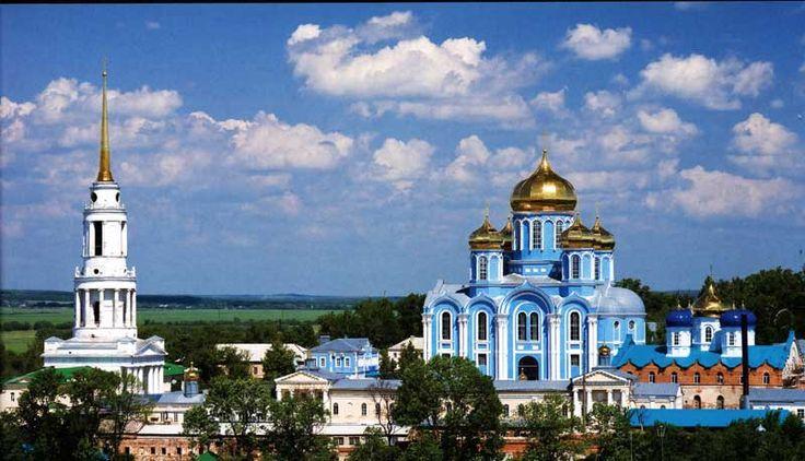 Россия, Задонск, Рождество-Богородицкий монастырь.