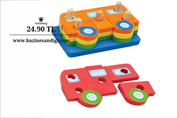 Wooden Toys Tahta Puzzle