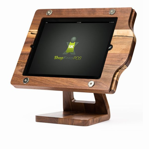 Freeform Woodworks Wooden iPad POS Stand - Limited Edition