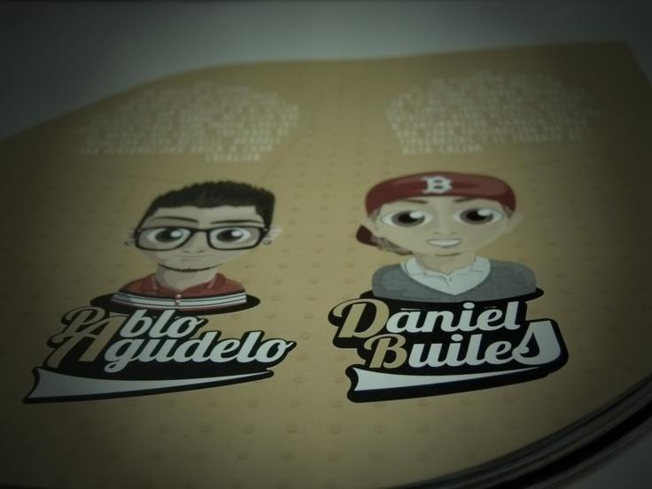Libro portafolio, terminado, idea principal CUENTO INFANTIL, CREADORES DEL PROYECTO ( Daniel Builes, Pablo Agudelo