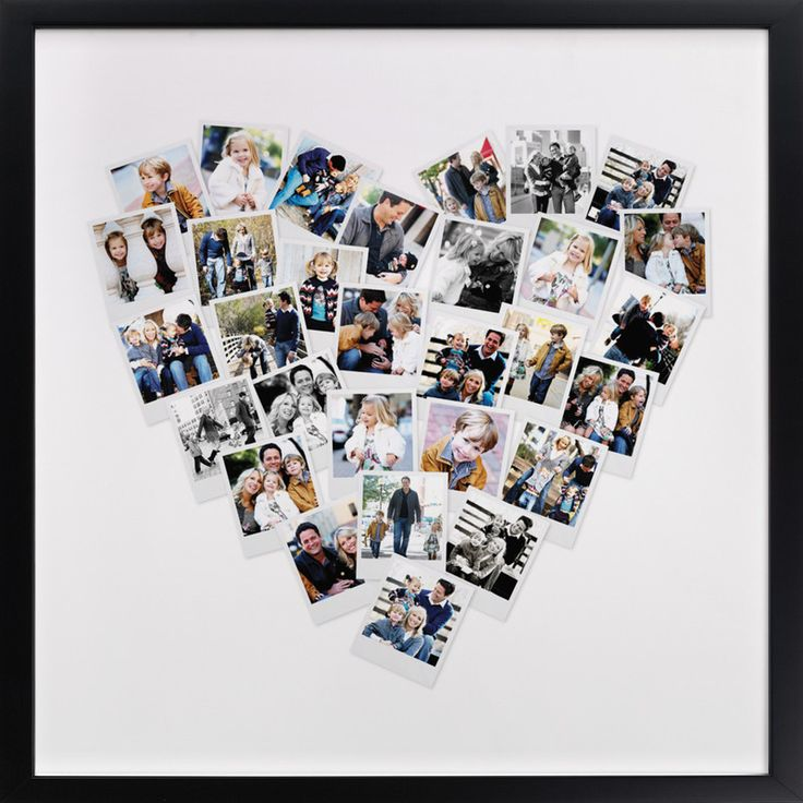 Click to see 'Heart Snapshot MixTM' on Minted.com