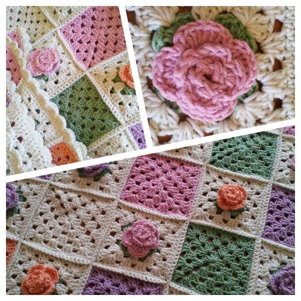 Crocheted blanket for a dear friend.